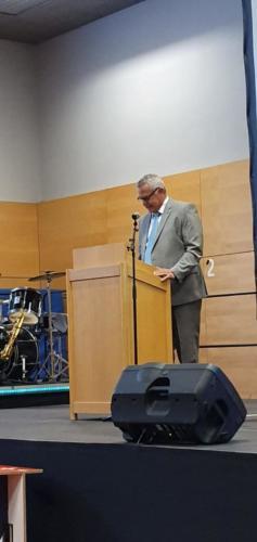 Schulamtsdirektor Günter Sauter
