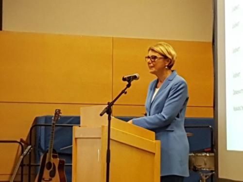Bürgermeisterin Agnes Christner