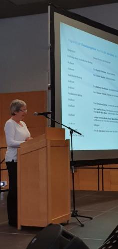 Christiane Ziemer, Vorsitzende des Heilbronner Personalrats und ehemalige Rektorin der Fritz-Ulrich-Schule