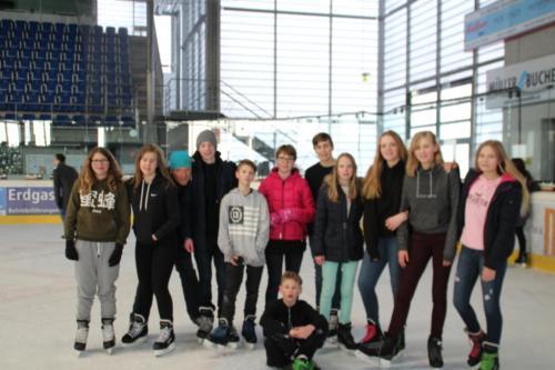 Gemeinsames Eislaufen  Februar 2017