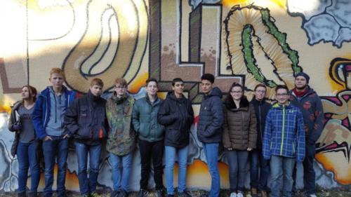 Pop2Go - Graffiti, Rap und Streetdance (Kulturwoche der Stufe 9)  November 2016