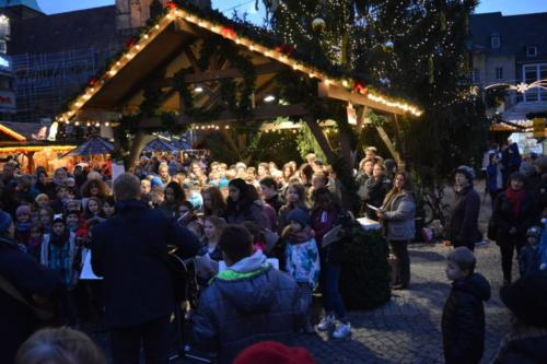 Traditionelles Weihnachtsingen  Dezember 2016